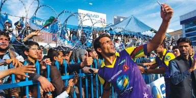Playing for 'Our Own,' Afghan Cricket Stars Return Home as Heroes