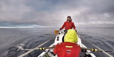 Stranded on Norwegian Island, Rowers End Their Arctic Mission